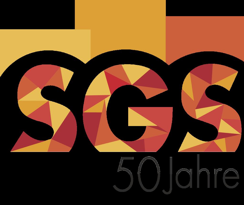 50 Jahre SGS Logo